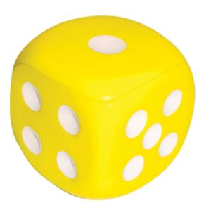 Stress Dice in Yellow