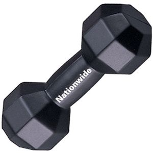 Promotional Stress Dumbell for Fitness Campaigns