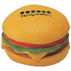 Stress Hamburger in Yellow/Brown/Green/Red