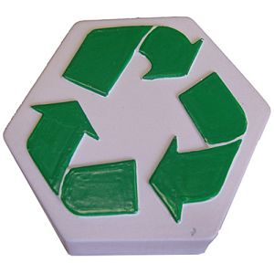 Promotional Stress Recycling Logo is great for council marketing