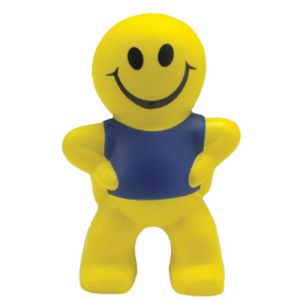 Stress SmIley Man in Yellow/Blue