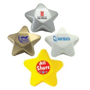 Custom Printed Stress Ball Stars for Company Gifts