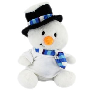 Loved by children & adults alike, these cute cuddly snowman offer fantastic seasonal awareness for your brand!