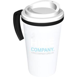 Americano Grande Thermal Mugs in White