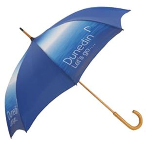 Printed brolly for winter merchandise ideas