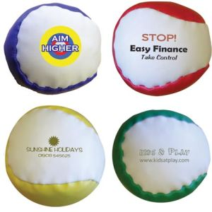 These Branded Hacky Sacks are available in a range of eye catching colours