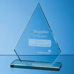 Jade Peak Award is a Beautifully Designed Award for Business Gifts