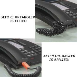 Telephone Wire Untangler