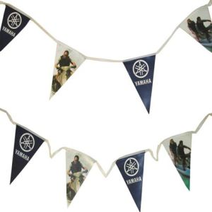 Custom branded bunting for events and exhibitions
