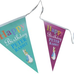 Printed Outdoor Triangle Bunting for company events