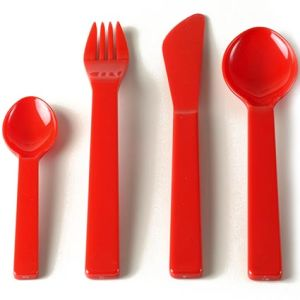 Custom Branded Plastic Cutlery Sets for Childrens Events