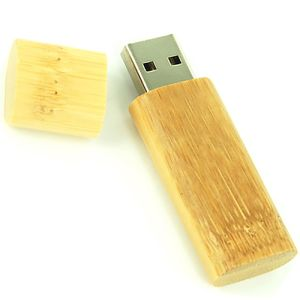 Add an eco-friendly touch to your marketing endeavours with these engraved bamboo flashdrives.