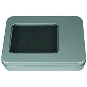 USB Metal Window Tin