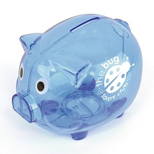 Personalised Value Piggy Bank for Campaign Giveaways