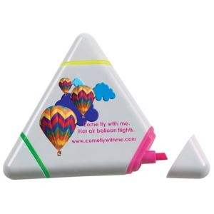Custom corporate Triangular Highlighter for desks