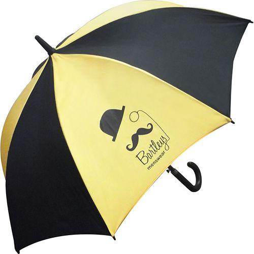 Branded walking umbrellas