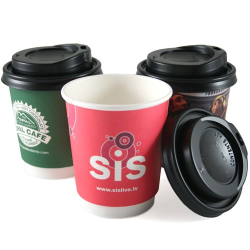Branded paper & plastic cups