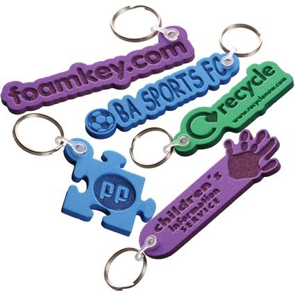 Promotional novelty keyrings
