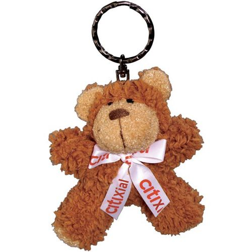 Promotional teddy bear keyrings