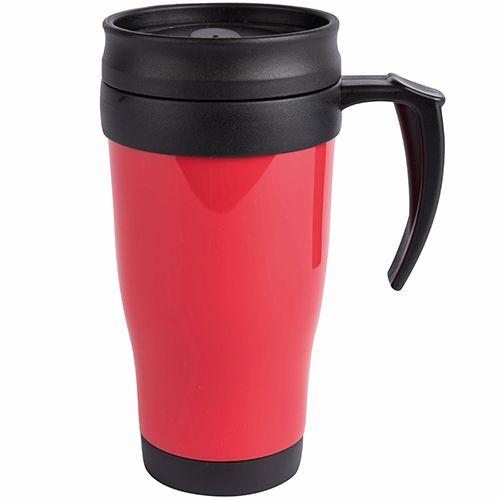 Branded travel mugs