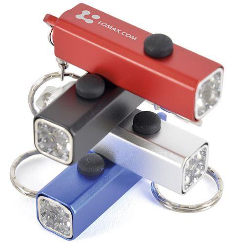 Printed torch & LED keyrings