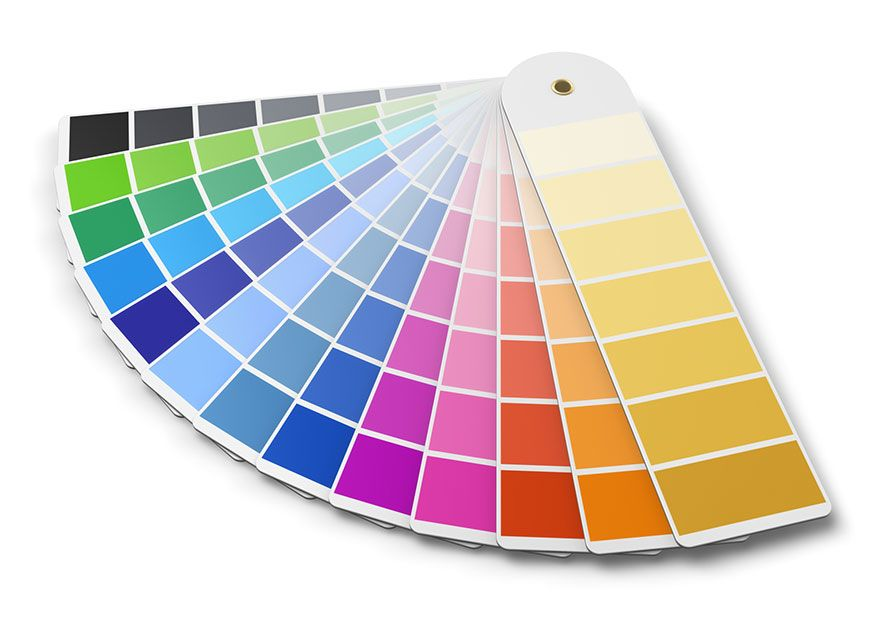 Promotional merchandise colour guidelines