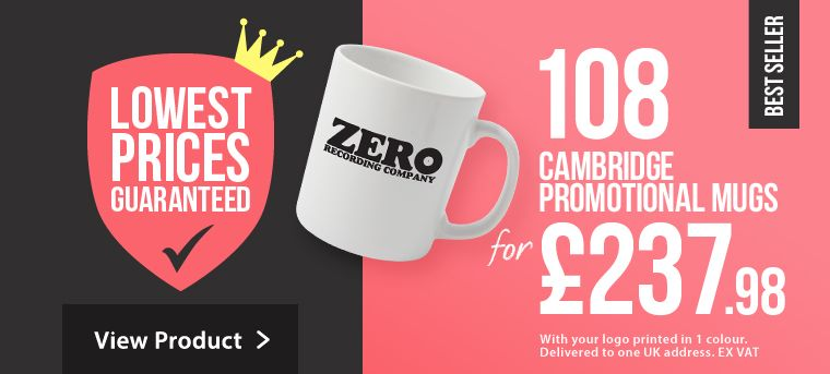Cambridge Promotional Mugs