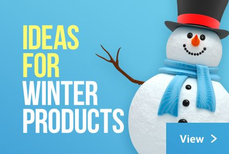 Branded winter merchandise