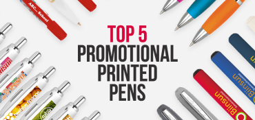 TOP 5 Promotional Printed Pens - The People's Choice