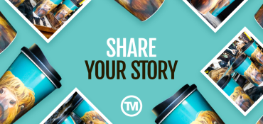 Share Your Story: Printed Travel Mugs For An Artist