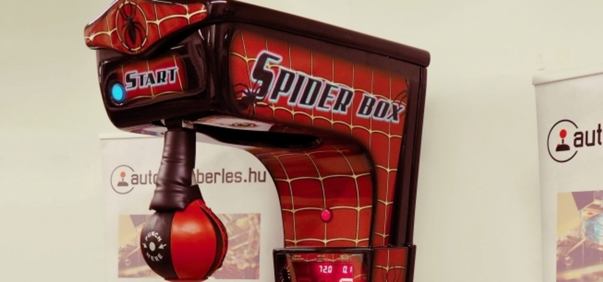 Box gép (Új)