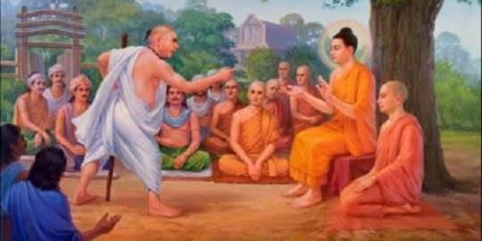 Tanmese - Buddha és az inzultáló fiatalember