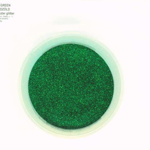 Glitter smaragd zöld 004' Glitter / Polyester Glitter