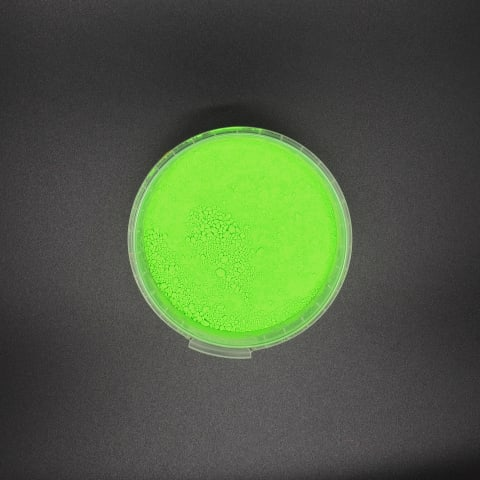 Fluo pigment por zöld Fluo por pigmentek és speciáls efektek