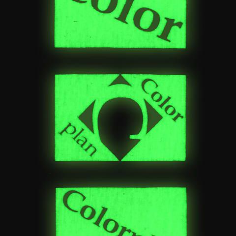 Lumin Effekt Grün Fluo por pigmentek és speciáls efektek