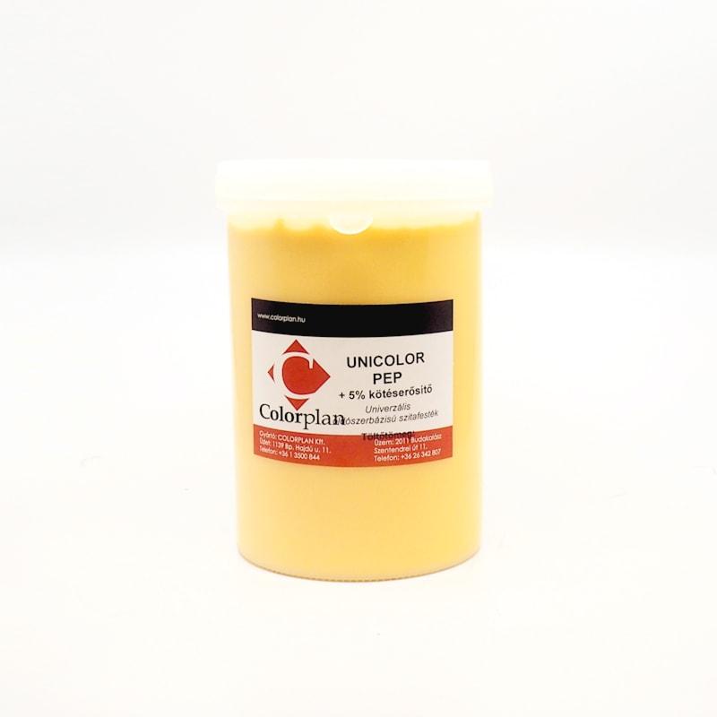 Unicolor PEP sárga