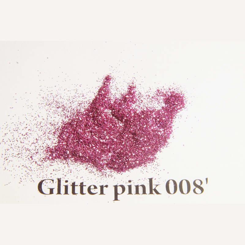 Glitter pink 008' 200 mikronos szemcseméret