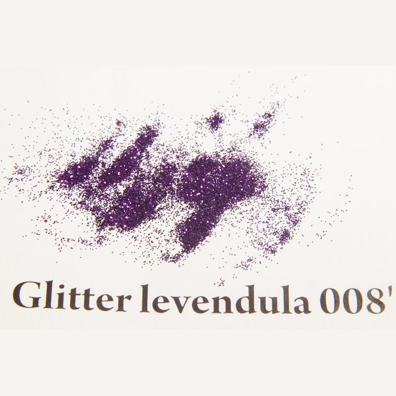 Glitter levendula 008' 200 mikronos szemcseméret