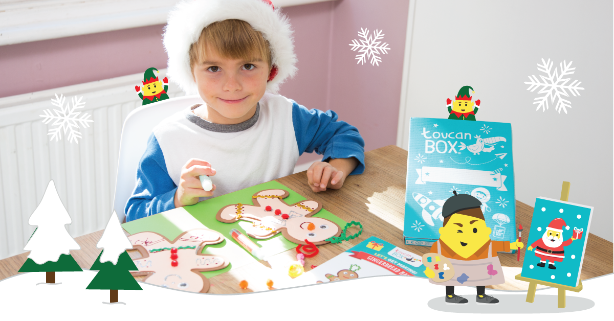 Have A Magical Christmas With toucanBox Crafty Gifts