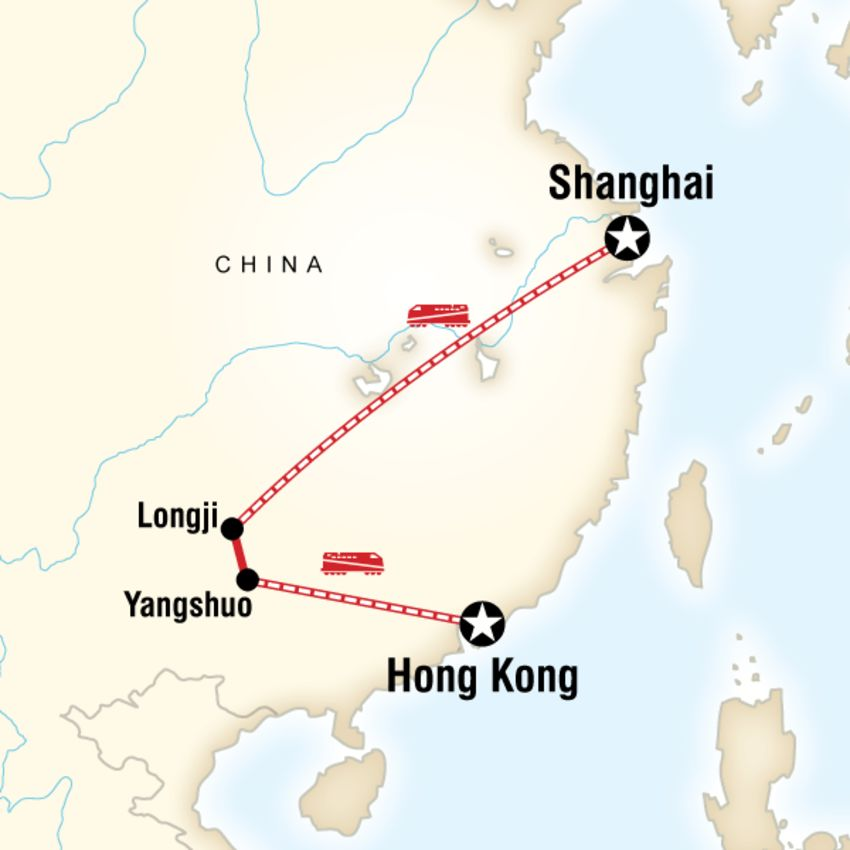 Classic Shanghai to Hong Kong Adventure Tour Amigo