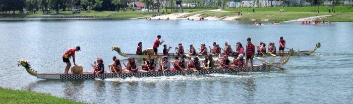 Drachenboot-Rennen-Singapur