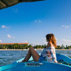 Amaya Beach à Passekudah: Amaya Beach Boat Ride