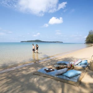 Six Senses Krabey Island à Sihanoukville & Îles: Beach picnic at Koh Ta Kiev