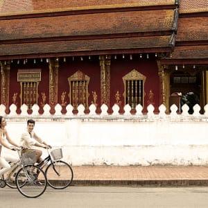 Burasari Heritage in Luang Prabang: Bicycle Riding