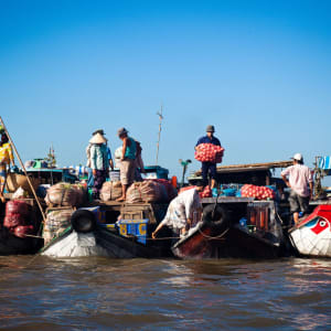 Von Angkor nach Saigon ab Siem Reap: activities: Cai Rang Floating Market