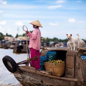 Voyage d'Angkor à Phu Quoc de Siem Reap: activities: Cai Rang market 2