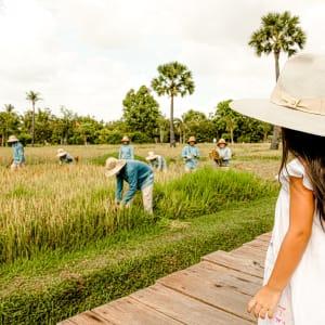 Phum Baitang in Siem Reap: Children Activities