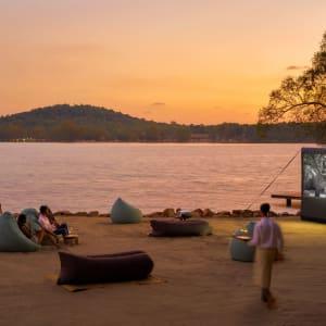 Six Senses Krabey Island à Sihanoukville & Îles: Cinema Paradiso