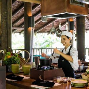 Six Senses Yao Noi in Ko Yao:  Cooking class