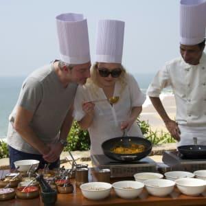 Niraamaya Retreats Surya Samudra à Kovalam: Cooking Class